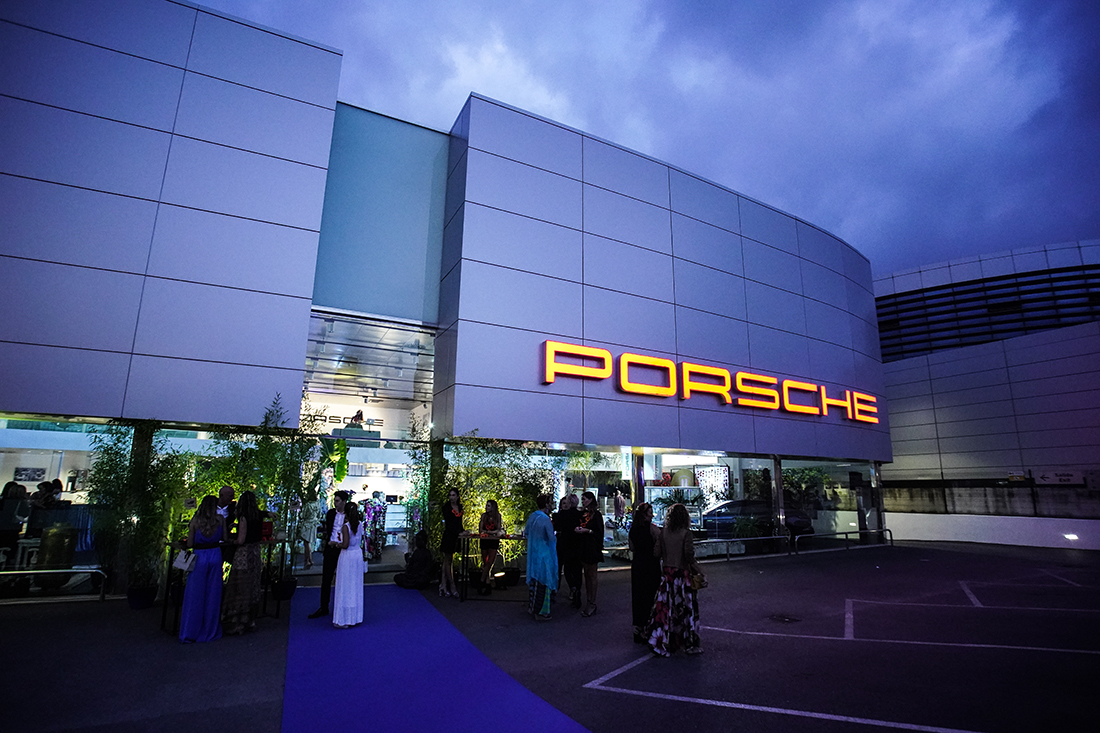 Brassclub en evento Ladies First de Porsche Baleares